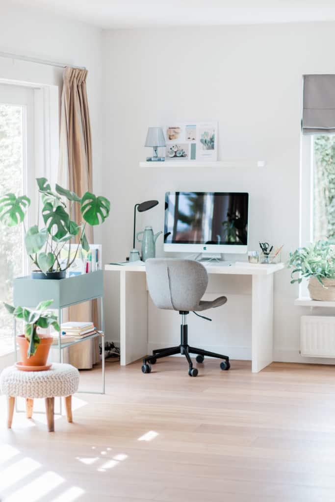 thuiswerkplek inrichten