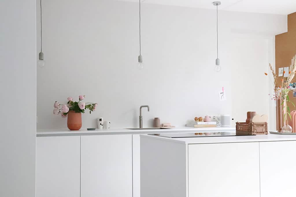 keuken: moderne nieuwbouwwoning