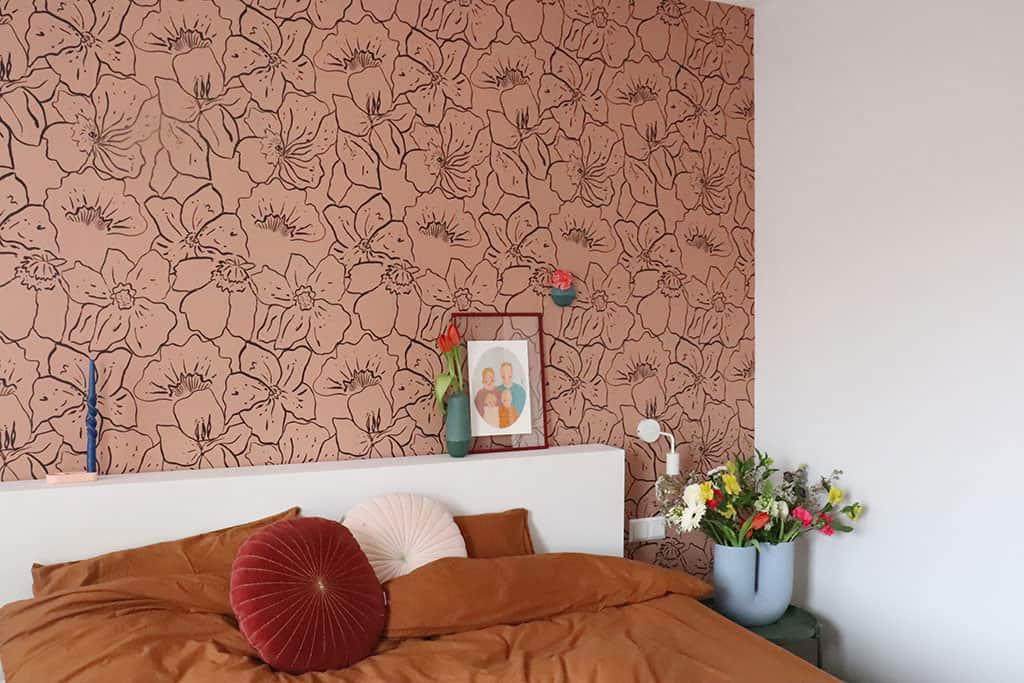 Slaapkamer: moderne nieuwbouwwoning