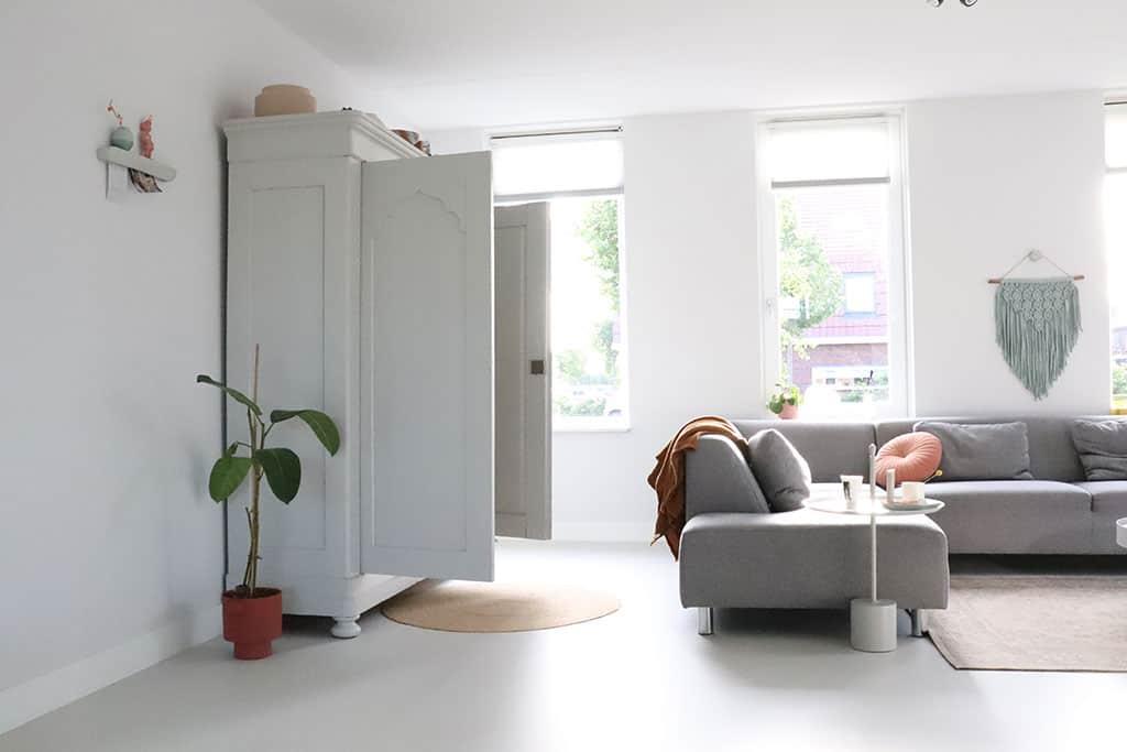 moderne, scandinavische nieuwbouwwoning