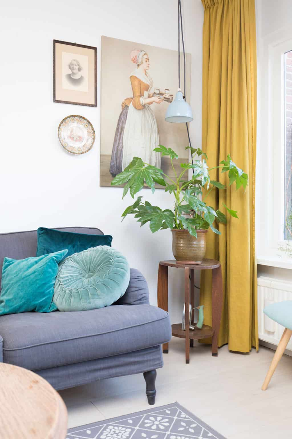 kleuren combineren: warm/koel contrast